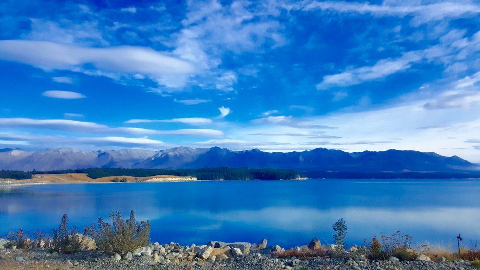 pukaki lac nouvelle-zélande