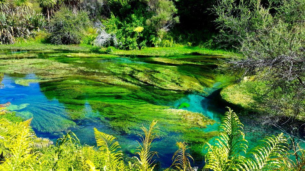randonnée the blue spring