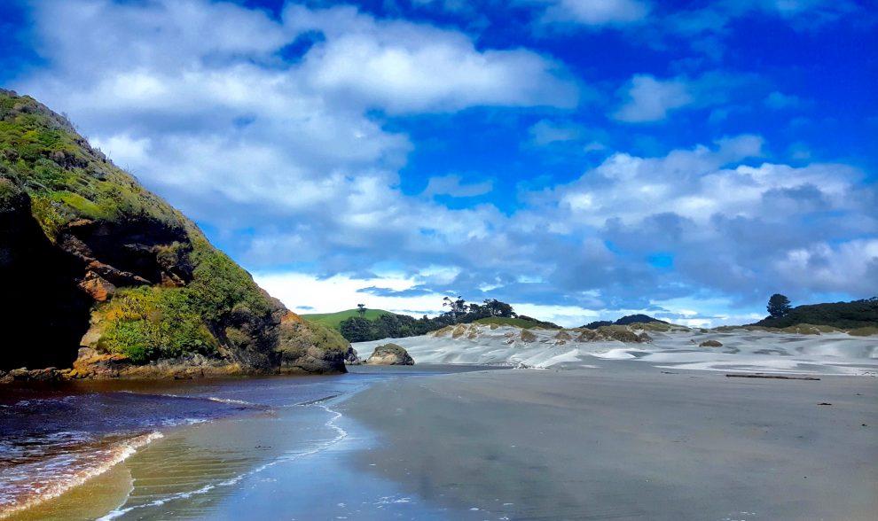 plage de nouvelle-zélande