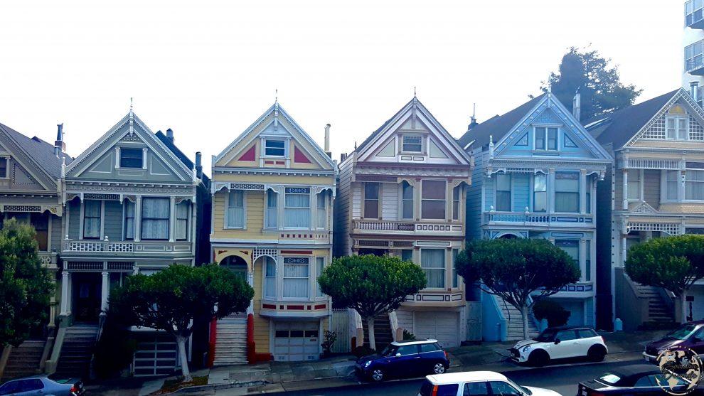 San Francisco - Californie - Painted Ladies