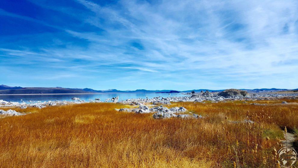 Colones de sel à Mono Lake