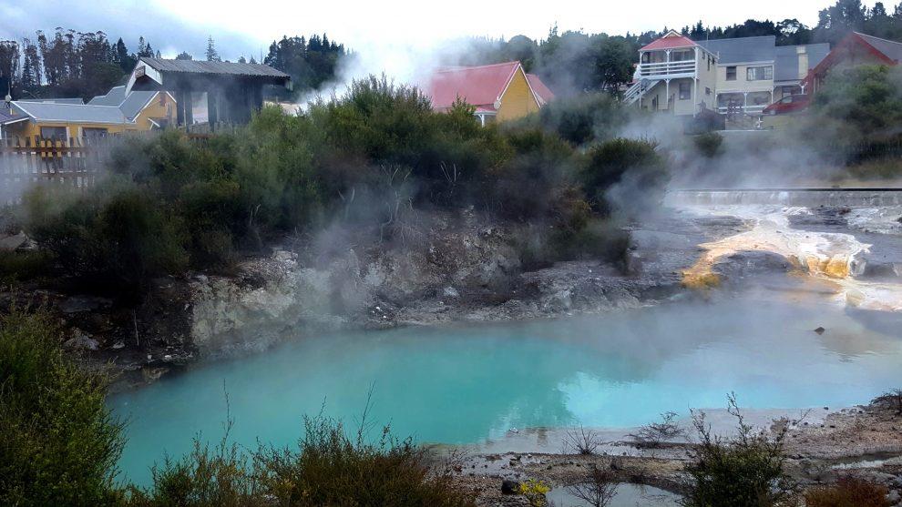 village thermal whakarewarewa